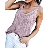 Zlolia-Blouses Clearance!Hot Fashion Women Sexy Beach Handmade Knitting Sleeveless Vest Solid Sweater Blouse