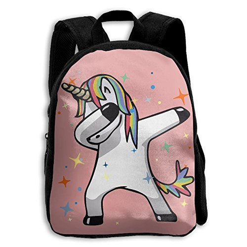 The Children's Dab Hip Hop Funny Magic Unicorn Backpack by LJFIAID