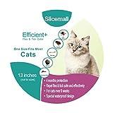 Dog Flea Treatment Collar - Slicemall Flea Tick Collar, cats flea treatment small medium large dogs tick repellent protection pets prevention control (13 inches Cats)