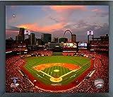 "Busch Stadium St. Louis Cardinals 2013 World Series MLB Photo (Size: 17"" x 21"") Framed"