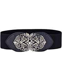 Grace Karin Women's Elastic Stretch Wide Vintage Waist Belt