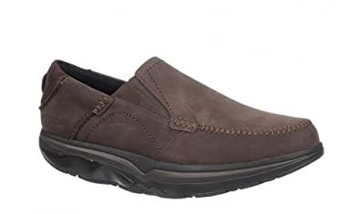 63d187d3ae80 Image Unavailable. Image not available for. Color  MBT Men s Baraka Coffee  Bean Slip-On Loafer ...