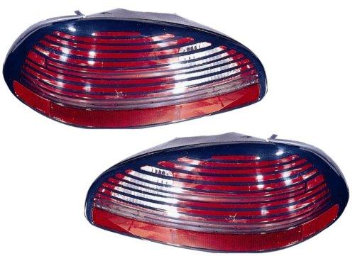 Pontiac Tail Light Assembly - Pontiac Grand Prix Replacement Tail Light Unit - 1-Pair