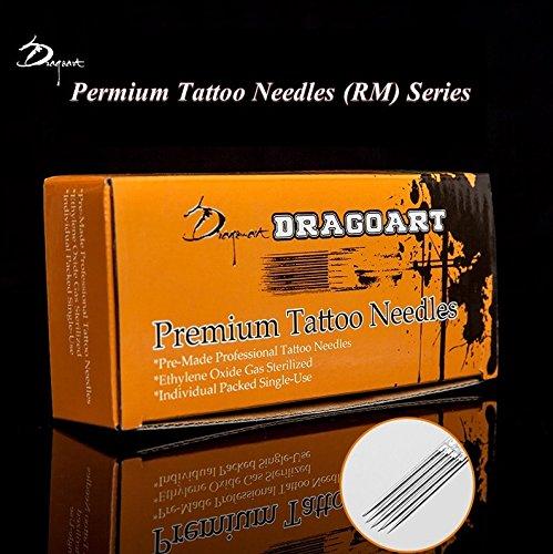 #12 Dragoart Premiun Tattoo Needles 5 CM (Curve Mag)