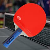 Custom Professional Table Tennis Paddle with Gambler Tension Hinoki Carbon Table Tennis Blade and Gambler Four Kings Rubber plus Case