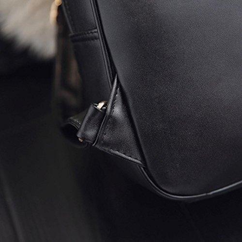 Crossbody Zaino Bag 3 Spalla Moda Borsa Nero a Set Quattro Quattro Borse Estate Yesmile Beige Tracolla Tote Borsetta Pezzi Doppia Donne aTqzRaxw