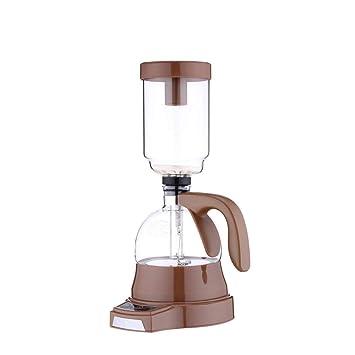 ZXZLJ Máquina de café eléctrica Sifón 3 tazas de vacío Máquina de elaboración de cerveza Té de goteo Sifón Olla de filtro de vidrio: Amazon.es: Hogar