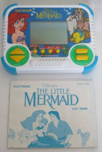 Disney's The Little Mermaid Electronic LCD Handheld Game (1991) TIGER