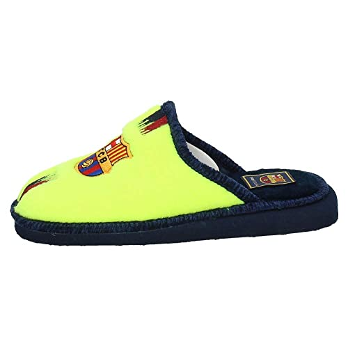 ANDINAS 918-50 F. Club Barcelona Hombre Zapatillas CASA Amarillo Fluor 35: Amazon.es: Zapatos y complementos