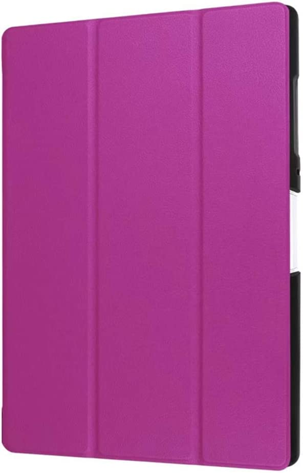 GOGODOG Acer B3-A40 Case Ultra Slim Bumper Full Body Protection Leather Protective Case 10.0 Inch Tablet Holder Shell Protector for Acer B3-A40 (Purple)
