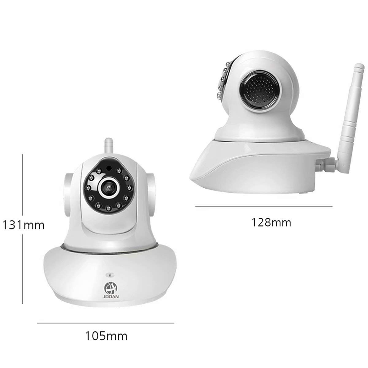 JOOAN WiFi Security Camera Wireless IP Camera with Two-Way Audio Night Vision 720P Camera for Pet Baby Monitor by JOOAN (Image #4)