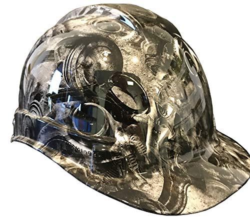 Hard Hat Ridgeline Cap Style Custom White Turbos and - Pistons Custom