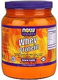 Now Sports Premium Whey Protein, Natural Vanilla, 1.2-Pound
