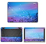 decalrus - Protective Decal Skin Sticker for Dell ChromeBook 11 3189
