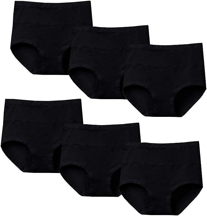 Nightease Mujer Bragas de Algodón Cintura Alta Culottes Elástico Control de Barriga Braguitas Ropa Interior Posparto: Amazon.es: Ropa y accesorios