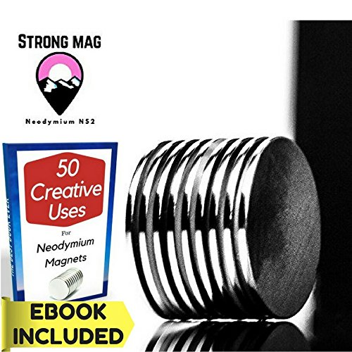 """Rare Earth Mag - Neodymium Magnets with Free E-Book 