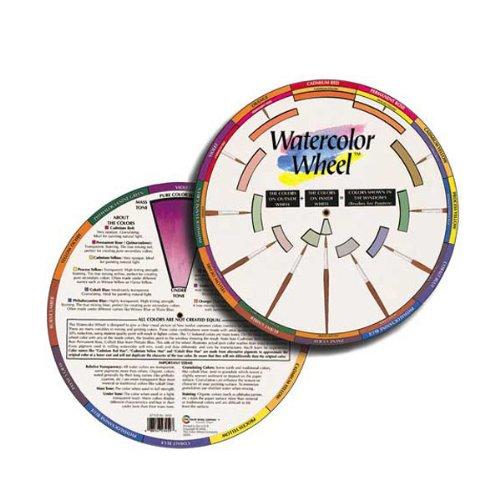 The Color Wheel Company Watercolor Wheel watercolor color wheel (Powersports Outdoor)