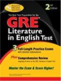 img - for GRE Literature in English (GRE Test Preparation) by James S. Malek (2000-12-06) book / textbook / text book