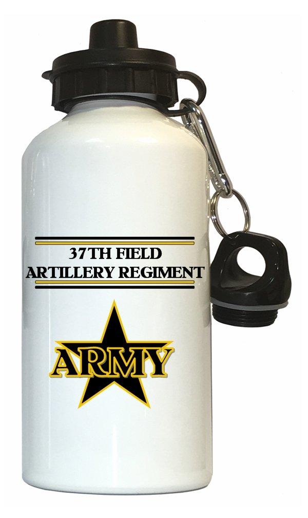 37thフィールドArtillery Regiment – US Army水ボトルホワイト B01N01SD8Z