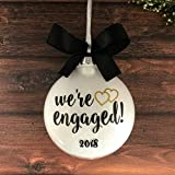 Gay Engagement Gifts, Lesbian Engagement Gifts, Engagement Ornament 2018