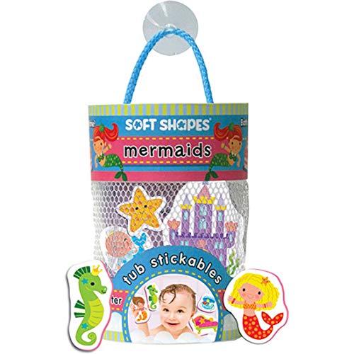 - Innovative Kids Soft Shapes Illustrated Tub Stickables Mermaids Playset