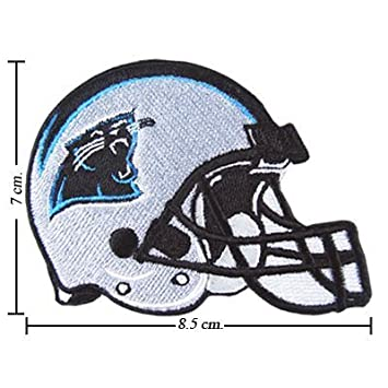 best sneakers cd798 eb40b Carolina Panthers Patch Helmet Logo Embroidered Iron on ...
