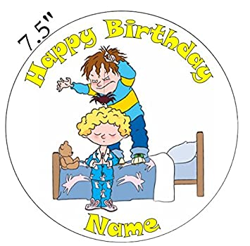 Horrid Henry Inspired Edible Icing Cake Topper Precut