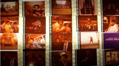 ANIMAL HOUSE Lot of 12 35mm Film Cells collectible memorabilia compliments dv...