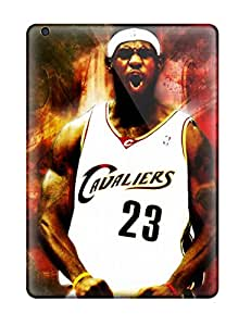 Premium Cleveland Cavaliers Nba Basketball (14) Back Cover Snap On Case For Ipad Air
