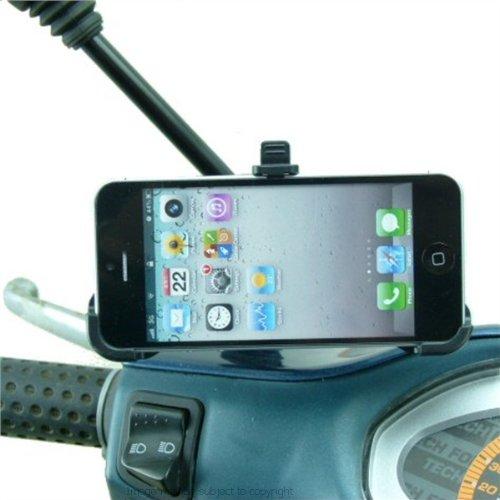 専用モペット/スクーターミラーマウントfor Apple iPhone 5 , 5s   B00BJ4BNH0