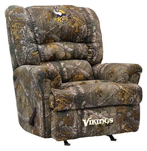 Imperial Officially Licensed NFL Furniture Big Daddy Camo Microfiber Rocker Recliner Minnesota Vikings  sc 1 st  Minnesota Vikings & Vikings Recliners Minnesota Vikings Recliner Vikings Recliner ...