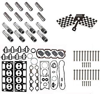Gm 5 3 AFM Lifter Replacement Kit  Head Gasket Set, Head Bolts, Full Lifter  Set