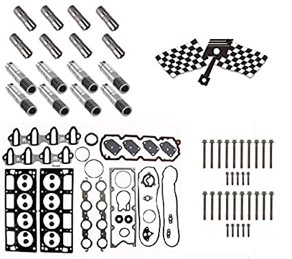 amazon com: gm 5 3 afm lifter replacement kit  head gasket set, head bolts,  full lifter set : automotive