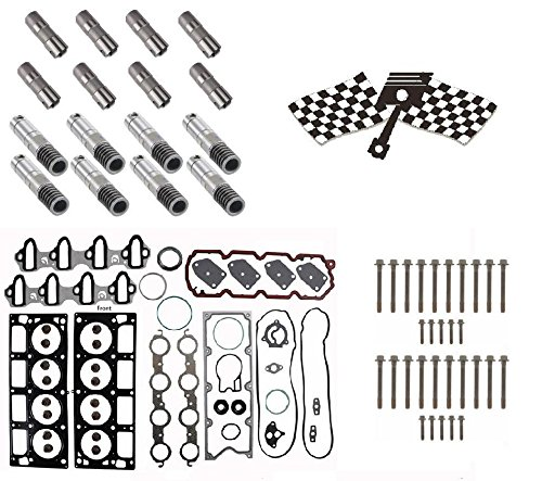 Gm 5.3 AFM Lifter Replacement Kit. Head Gasket Set, Head Bolts,  Full Lifter Set. by TMW Enginetech