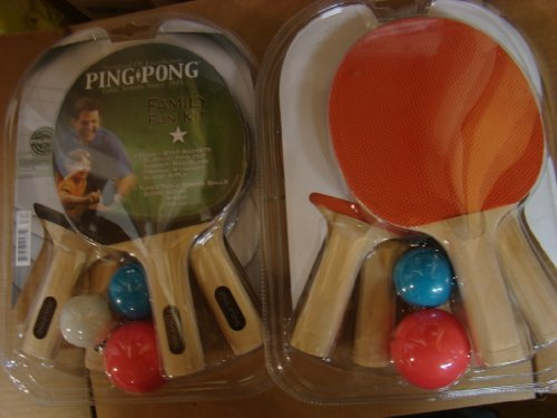 Ping Pong Family Fun Kit T0585