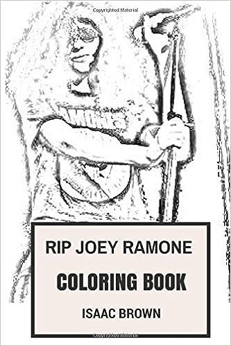 RIP Joey Ramones Coloring Book: Punk Rock Legend Ramones ...