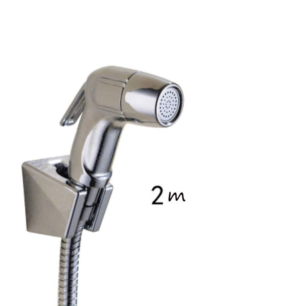 JHMY Hand-Bidet-WC-Spritzpistole Bidet T-Stück Hochdruckreinigung WC-Haushalt Weiblichen Wasserhahn,C