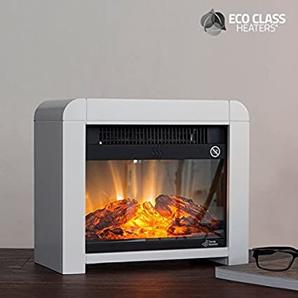 CEXPRESS - Estufa Eléctrica de Mica Eco Class Heaters EF 1200W - Negro: Amazon.es: Belleza