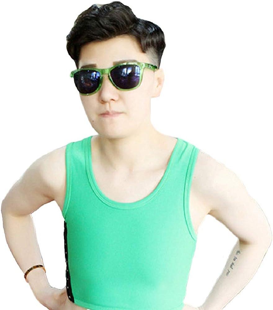 BaronHong Binder Binder in Doppio Strato colorato per Tomboy Trans Lesbian