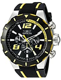 Invicta Men's 20104 S1 Rally Analog Display Japanese Quartz Black Watch