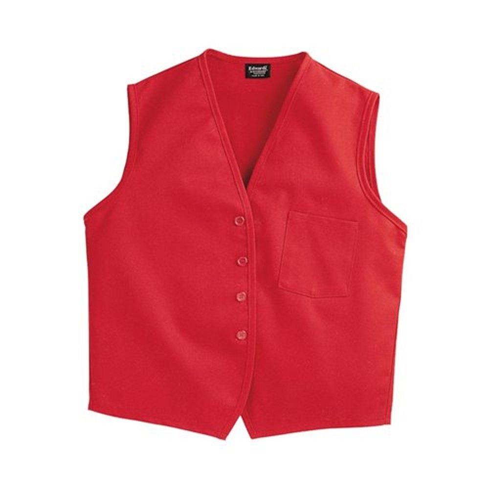 SixStarUniforms Unisex Work Vest with Breast Pocket