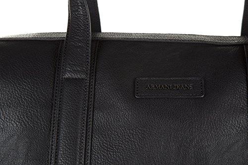 Armani Jeans sac bandoulière de voyage noir