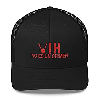 Kids and Money Today HIV is Not a Crime Spanish Hat Baseball Cap - One Size Snap Back Black