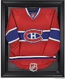 NHL Black Framed Logo Jersey Display Case