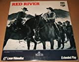 RED RIVER - EXTENDED PLAY LASER DISC - JOHN WAYNE MONTGOMERY CLIFT