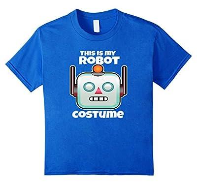 Robot Halloween Costume Shirt For Adults Kids Love Robotics