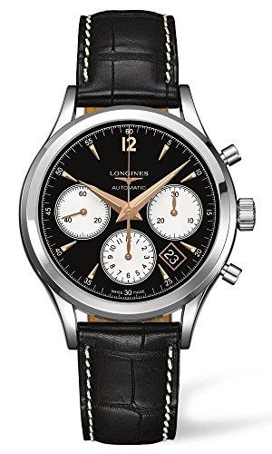 Longines Heritage Column-Wheel Chronograph Mens Watch L2.750.4.96.0 (L2 Wheel)