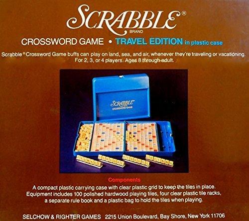 Scrabble Crossword Game 1977 Travel Edition