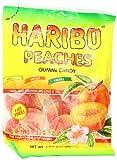 Haribo Gummi Candy, Peaches, 5 oz. Bag (Pack of 12)