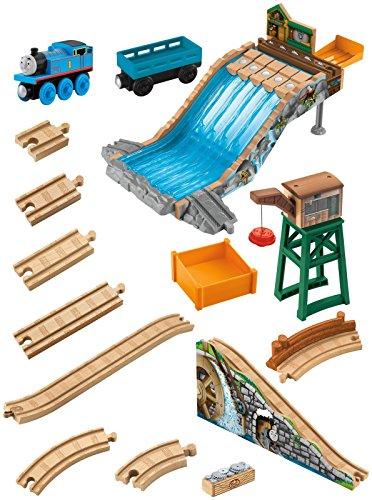 Fisher-Price Thomas & Friends Wooden Railway Lumberyard Waterfall Toy